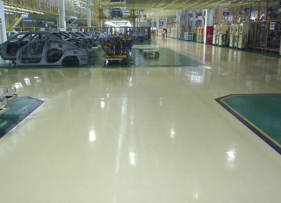 地坪翻新、维护