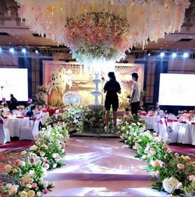 粉色浪漫婚礼