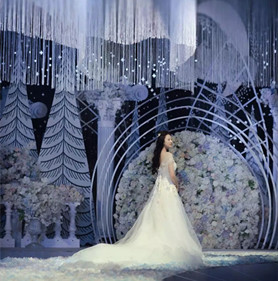 白色圣洁婚礼