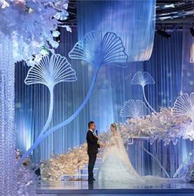 藍色夢幻婚禮