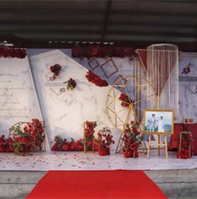 红色热情婚礼