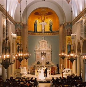 神圣教堂婚禮