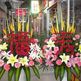 祝壽鮮花預定案例