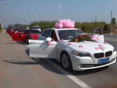 咸陽寶馬婚車租賃