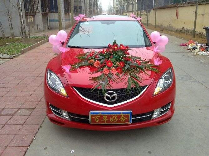 咸陽馬自達婚車租賃