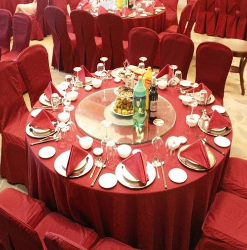 婚禮宴席區布置
