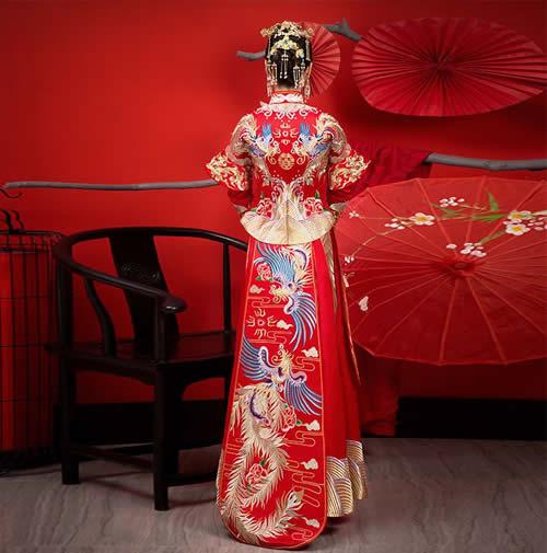 中式婚服租賃