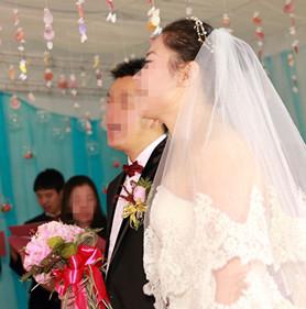 咸陽摯愛婚慶公司為灃景公寓新人舉行婚禮