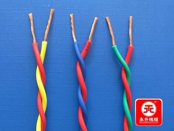 为什么花线都是两根缠绕到一起?