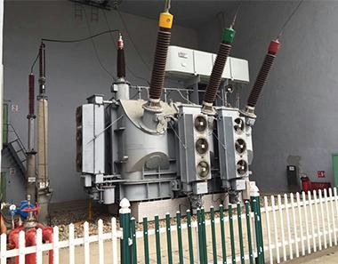 丹东太平湾电厂冷却器检修