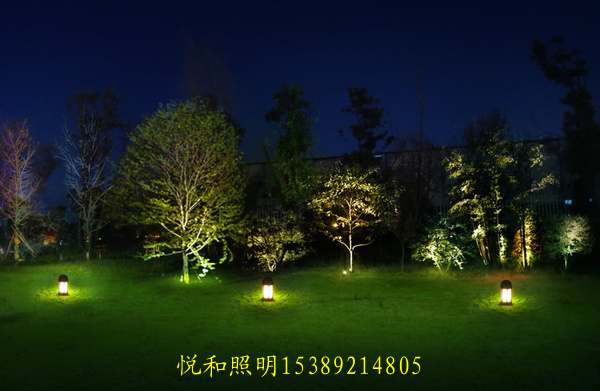 绿化带照明
