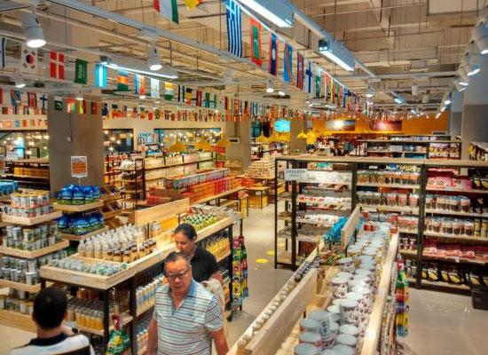 重庆跨境商品销售连锁店收银系统