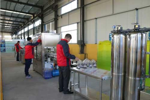 玻璃水设备性能特点