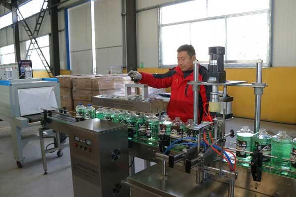 玻璃水生产设备使用方法