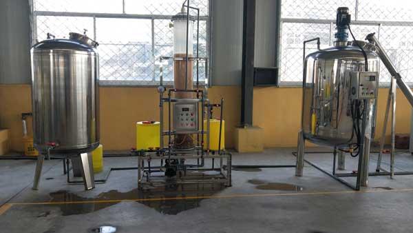 玻璃水加工设备
