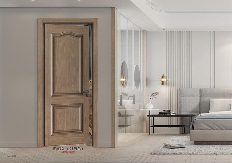 实木复合门由哪些材质形成?