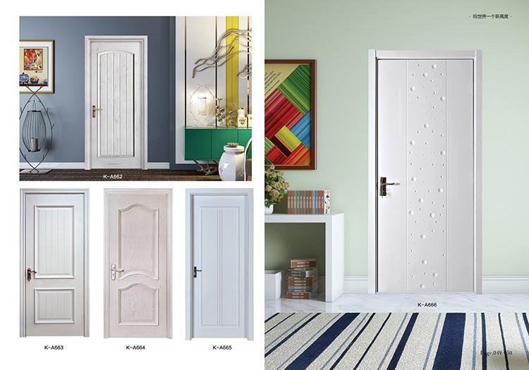 白色烤漆门
