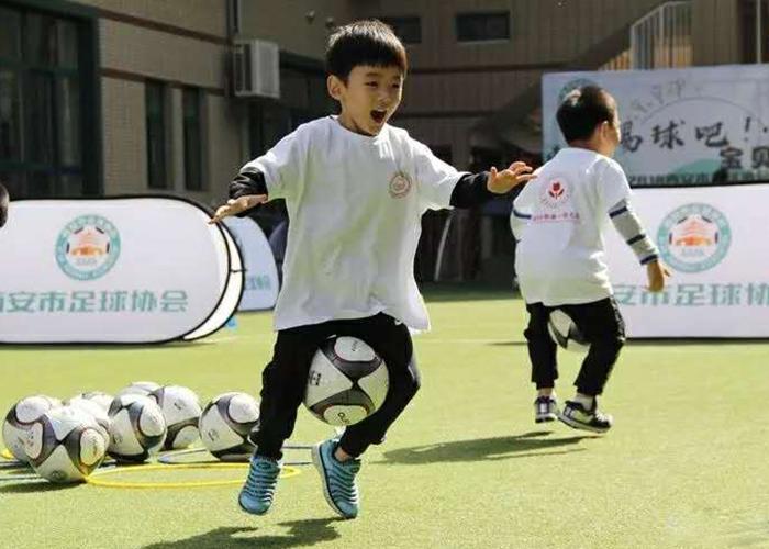 少兒足球培訓