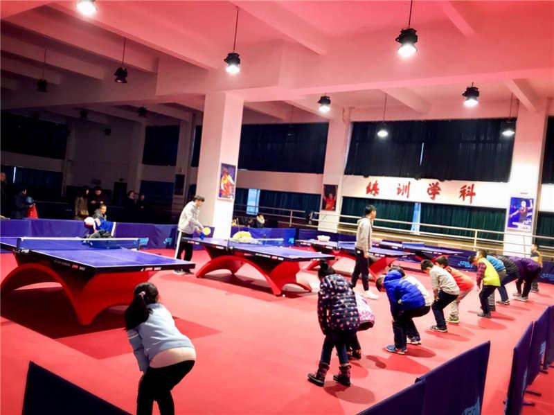 乒乓球館運營
