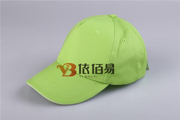 淡绿色广告帽定制