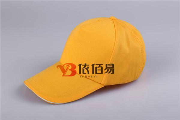 黄色广告帽定制