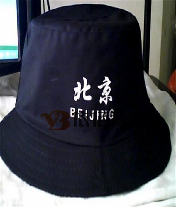 藏青色旅游帽定制