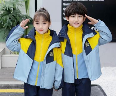 学生校服定制冲锋衣/园服定制、订做校服套装