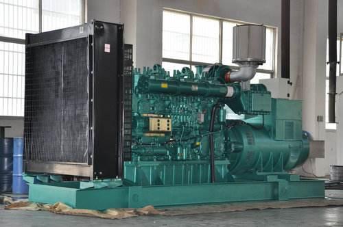 玉柴发电机组机组机构连接方式