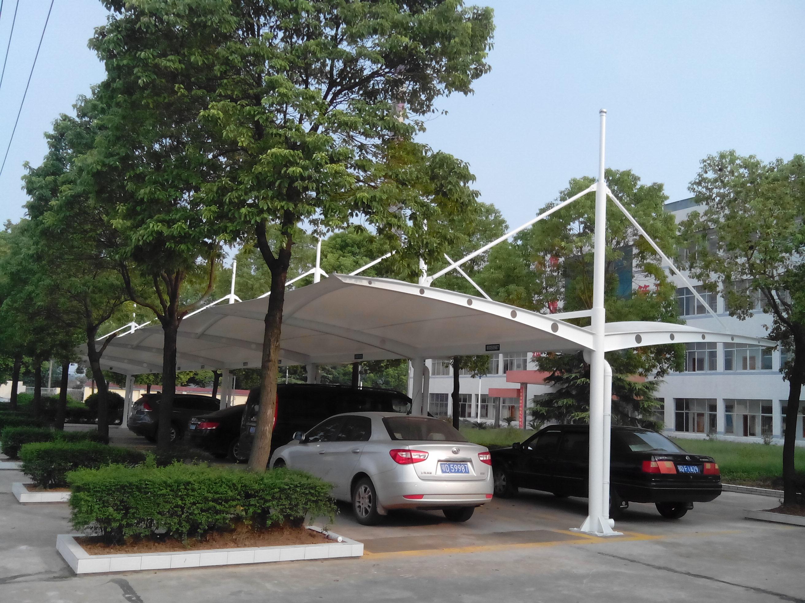 沁阳膜结构停车棚