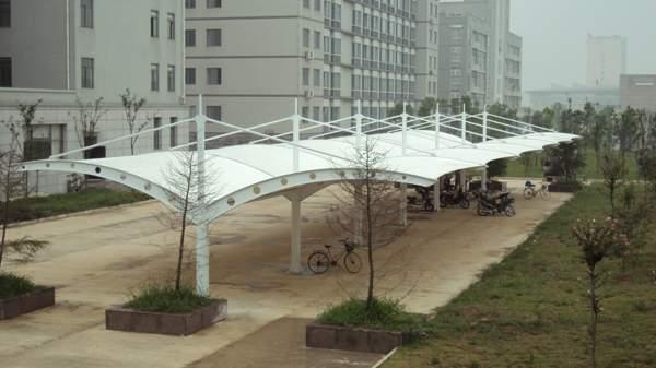 韶山膜结构停车棚