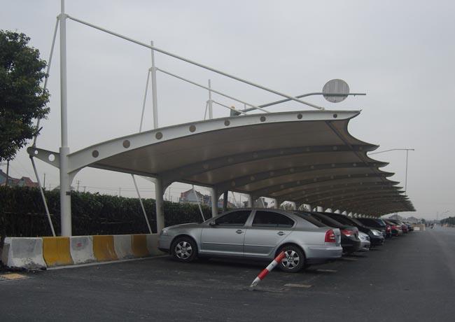 耒阳膜结构停车棚