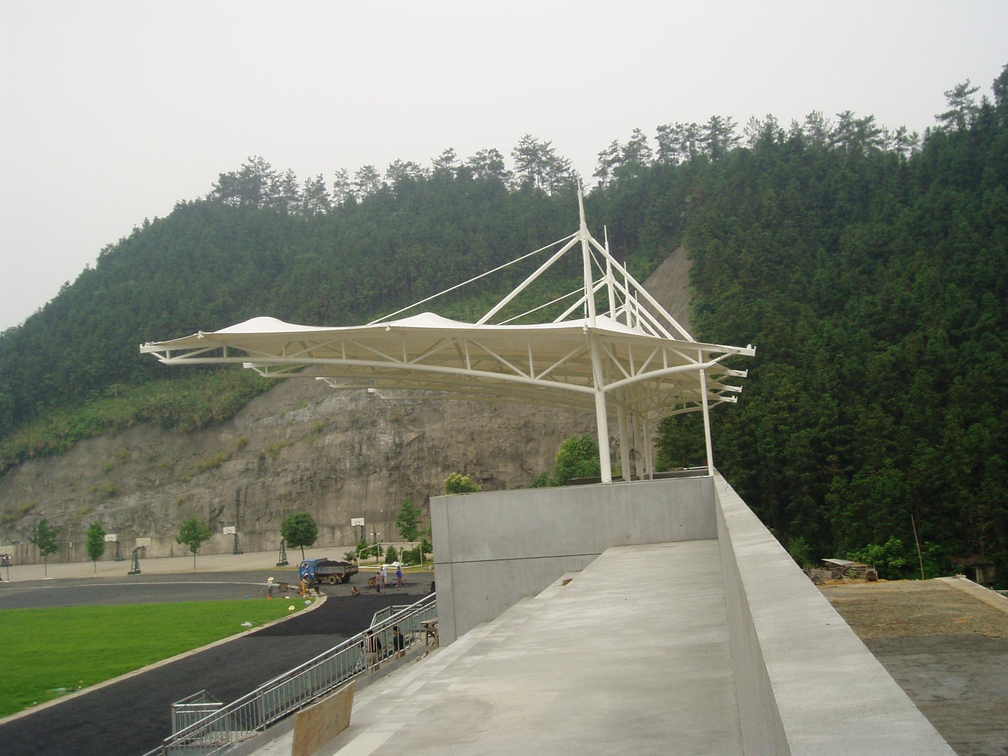 徐州膜结构体育场看台