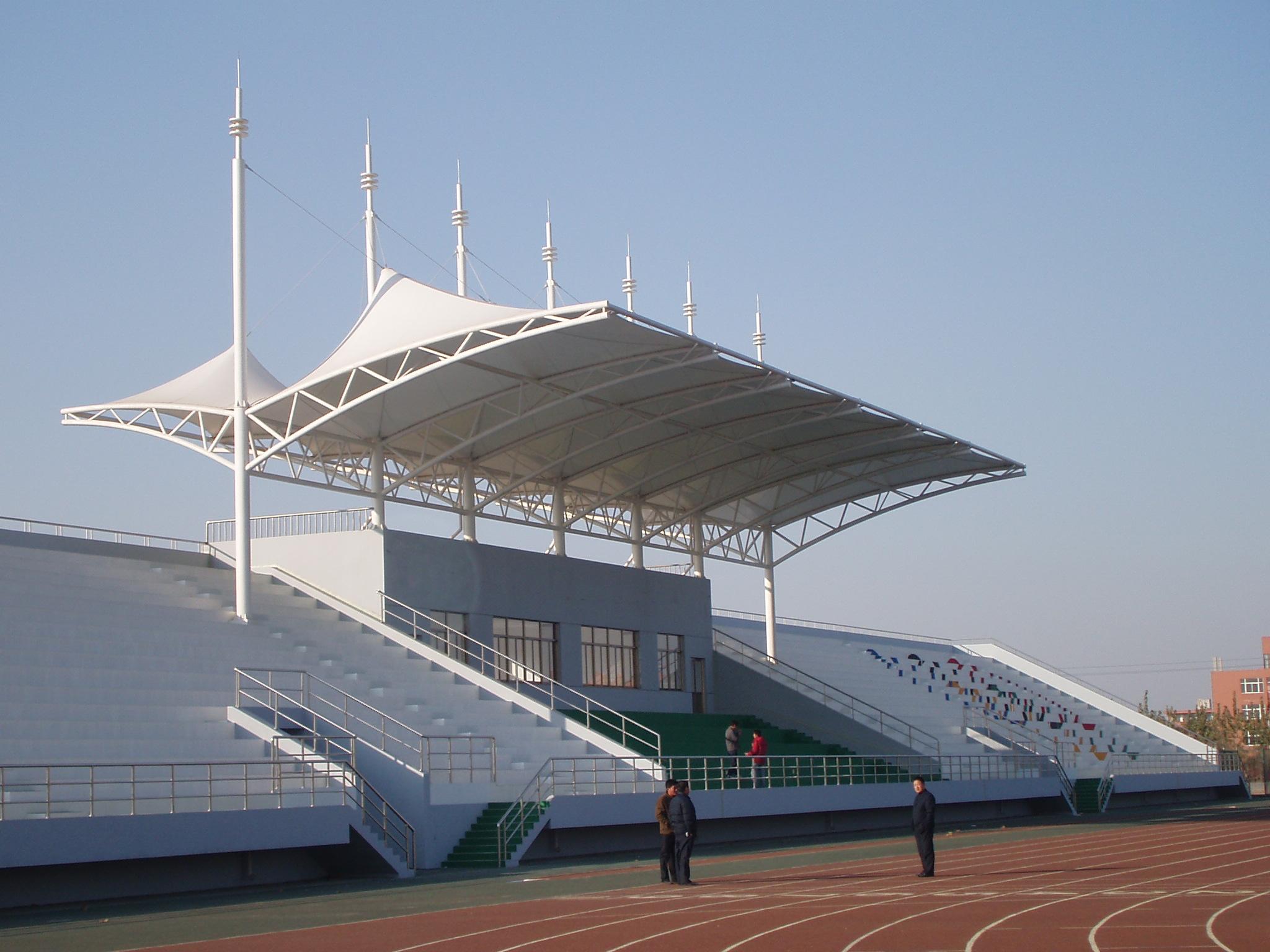 苏州膜结构体育场看台