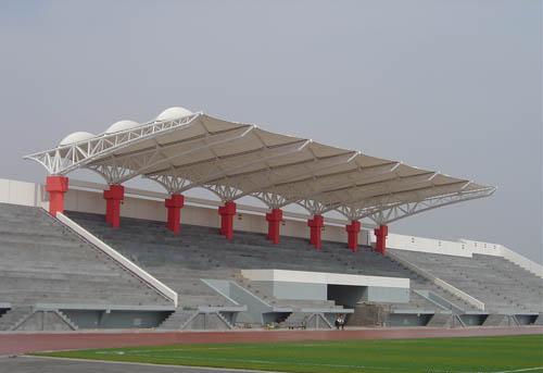太原膜结构体育场看台