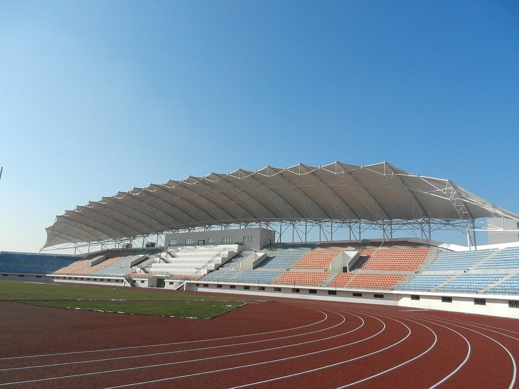 长治膜结构体育场看台
