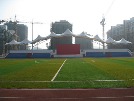 盘锦膜结构体育场看台