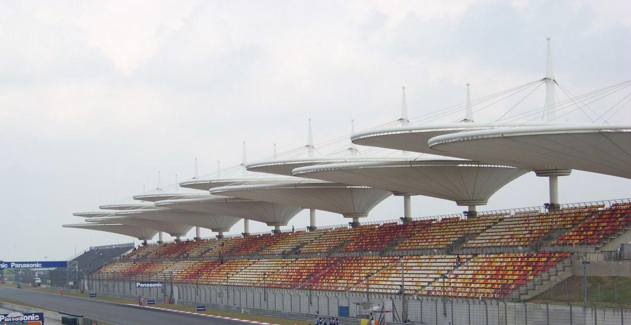 本溪膜结构体育场看台