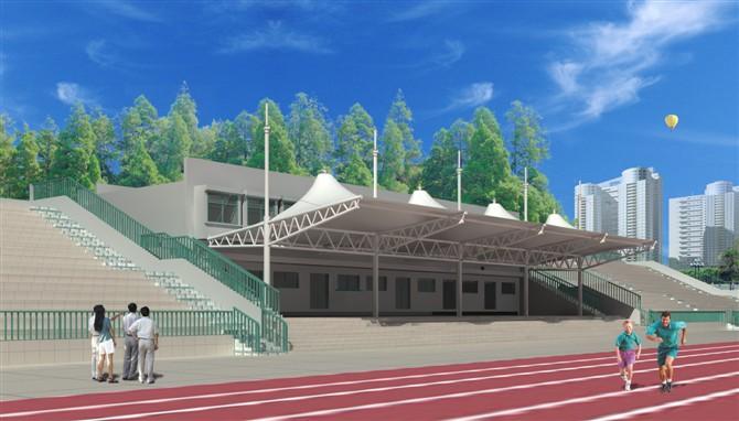 铁岭膜结构体育场看台