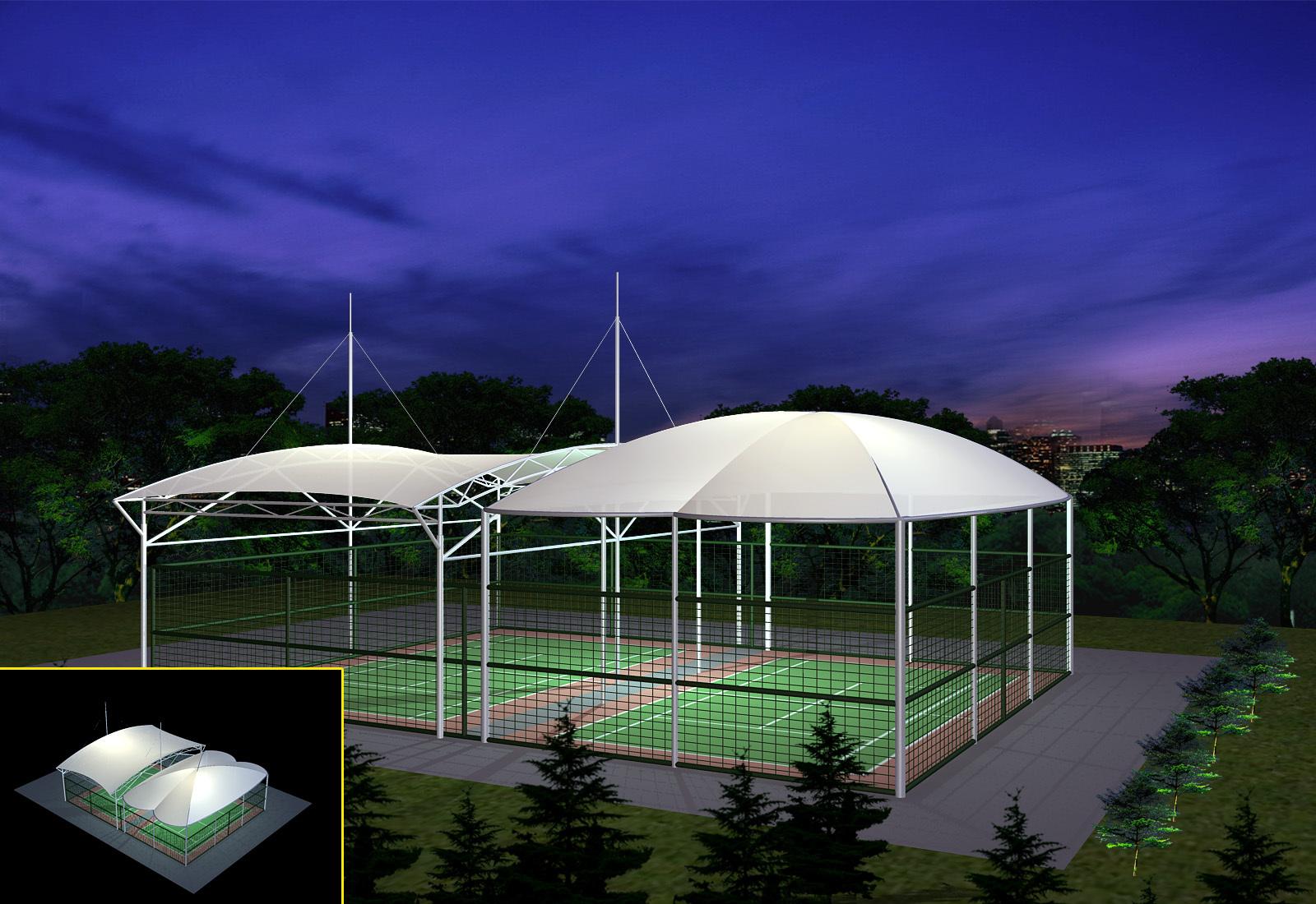 广西膜结构体育场馆