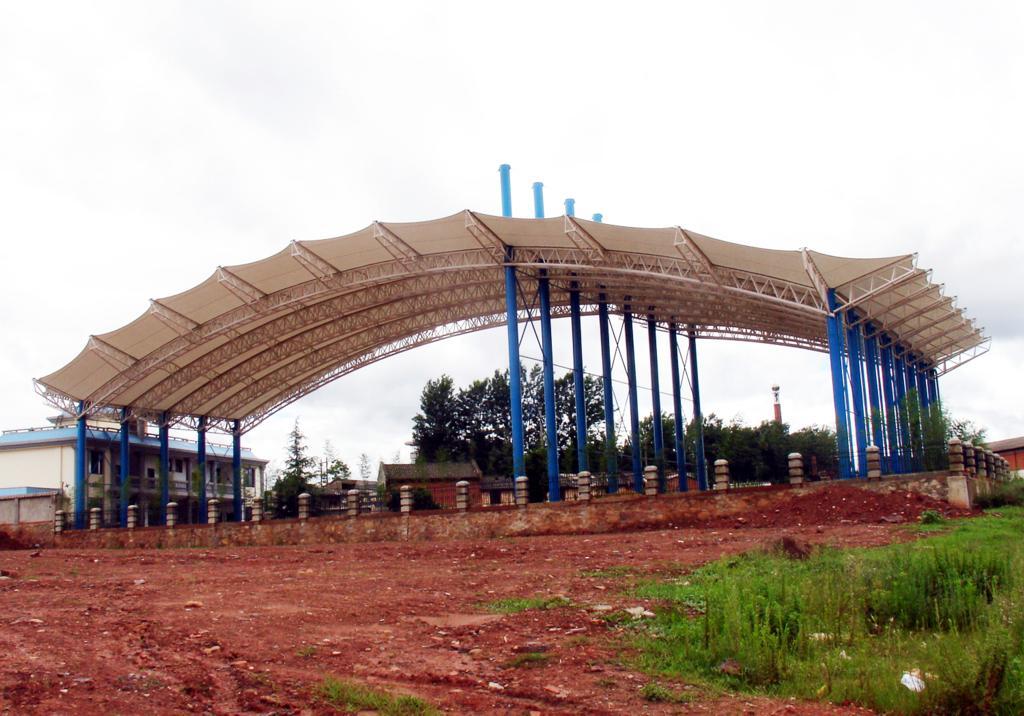 海南膜结构体育场馆