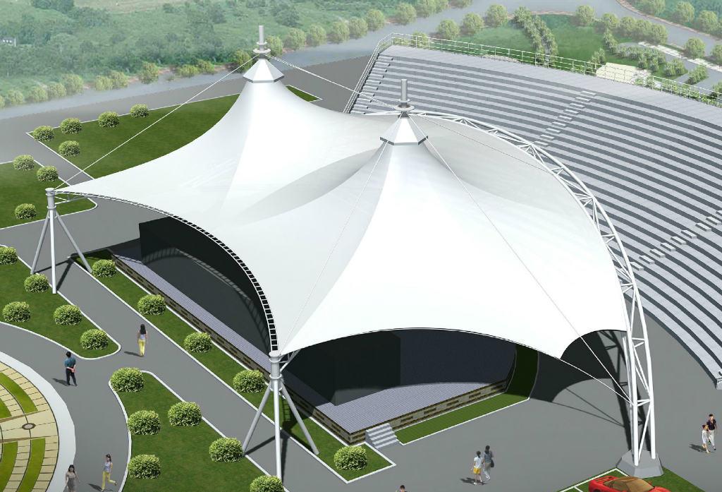 绥化膜结构体育场馆