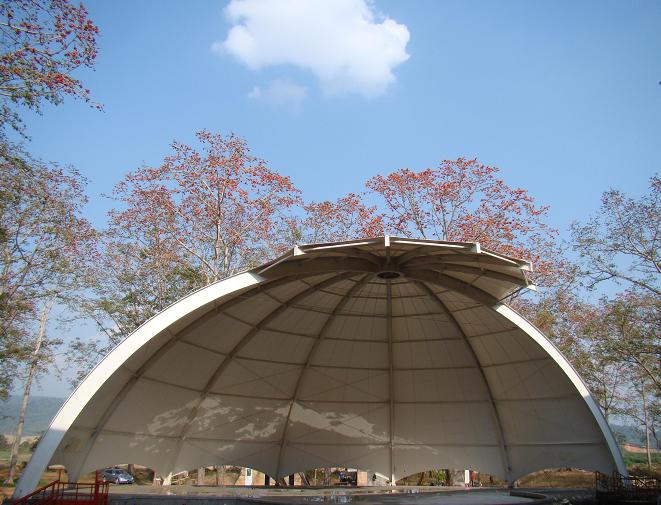 合肥膜结构泳池遮阳