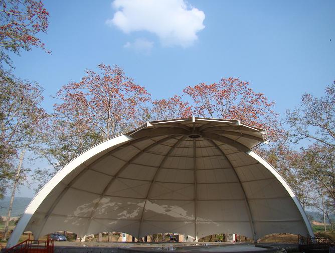 郑州膜结构表演舞台