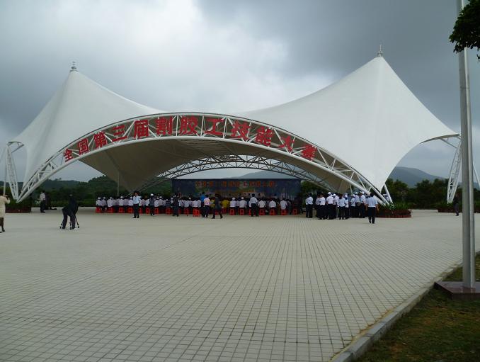山东膜结构表演舞台