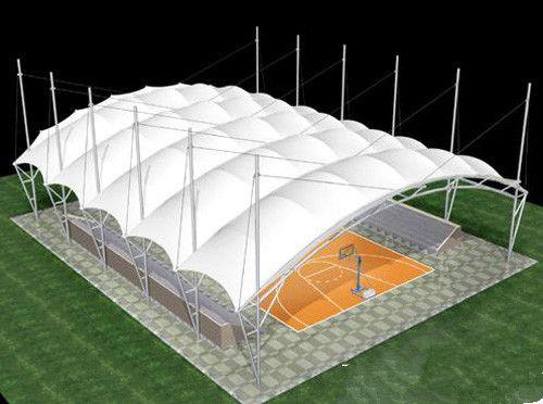 淮安膜结构体育场看台
