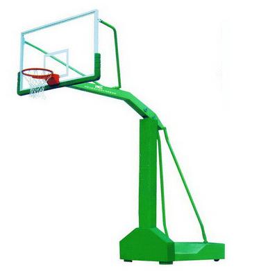 昆明篮球架-移动式独臂篮球架