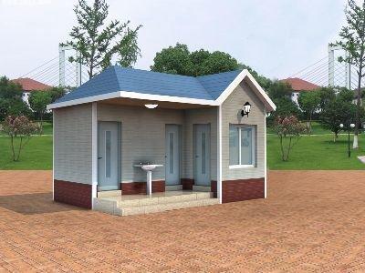 陕西免水打包型移动式公厕