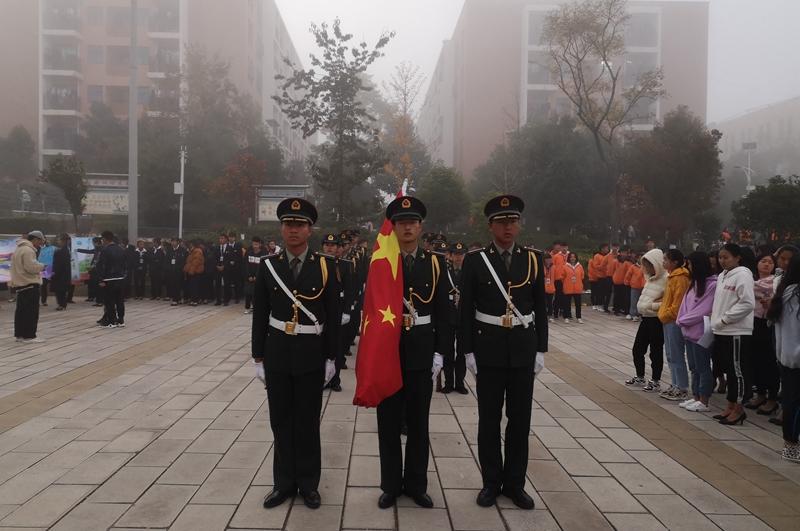 国旗护卫队训练