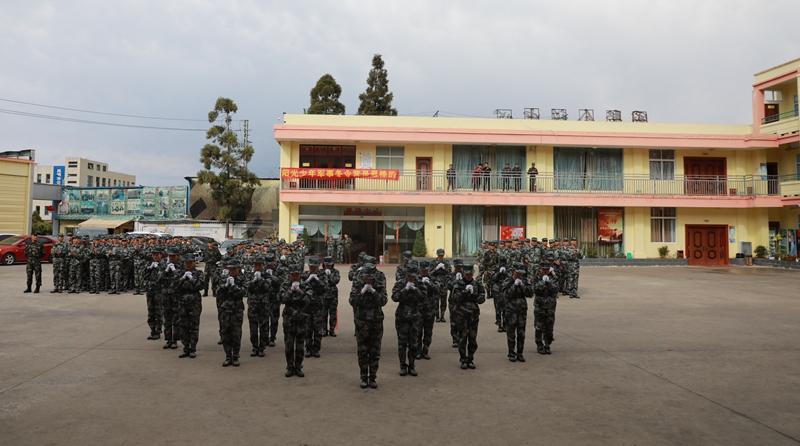 軍訓入營展示