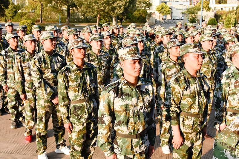 軍訓-入營